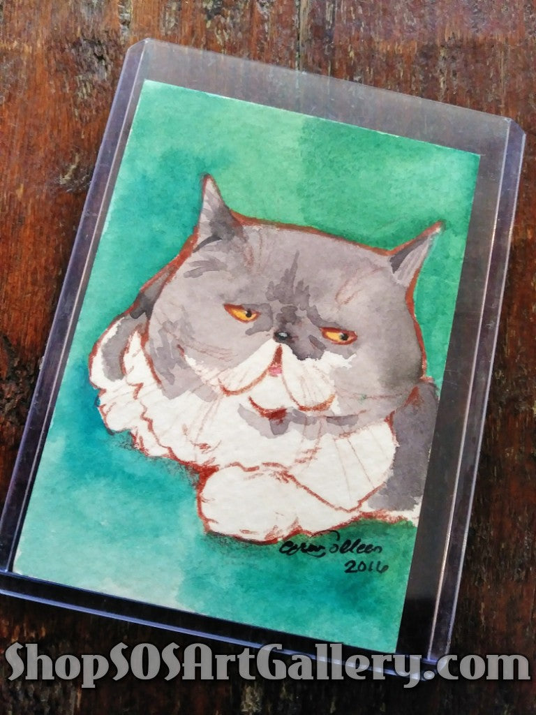 ARTWORK: Watercolor Mini by Local Artisan