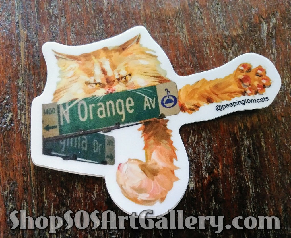 STICKERS: Artisan designed sticker by @SOSArtGallery Artisan ($6 each)