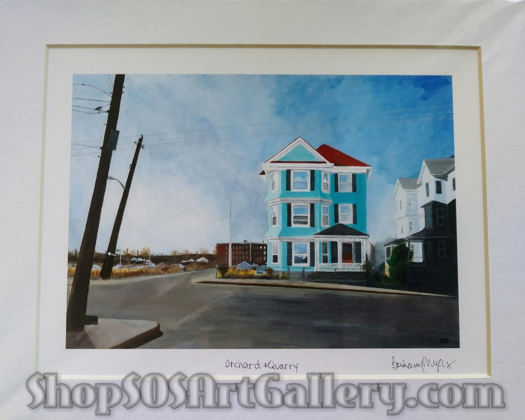 PRINTS: Limited Edition 8x10 Matted Print by @SOSArtGallery Artisan