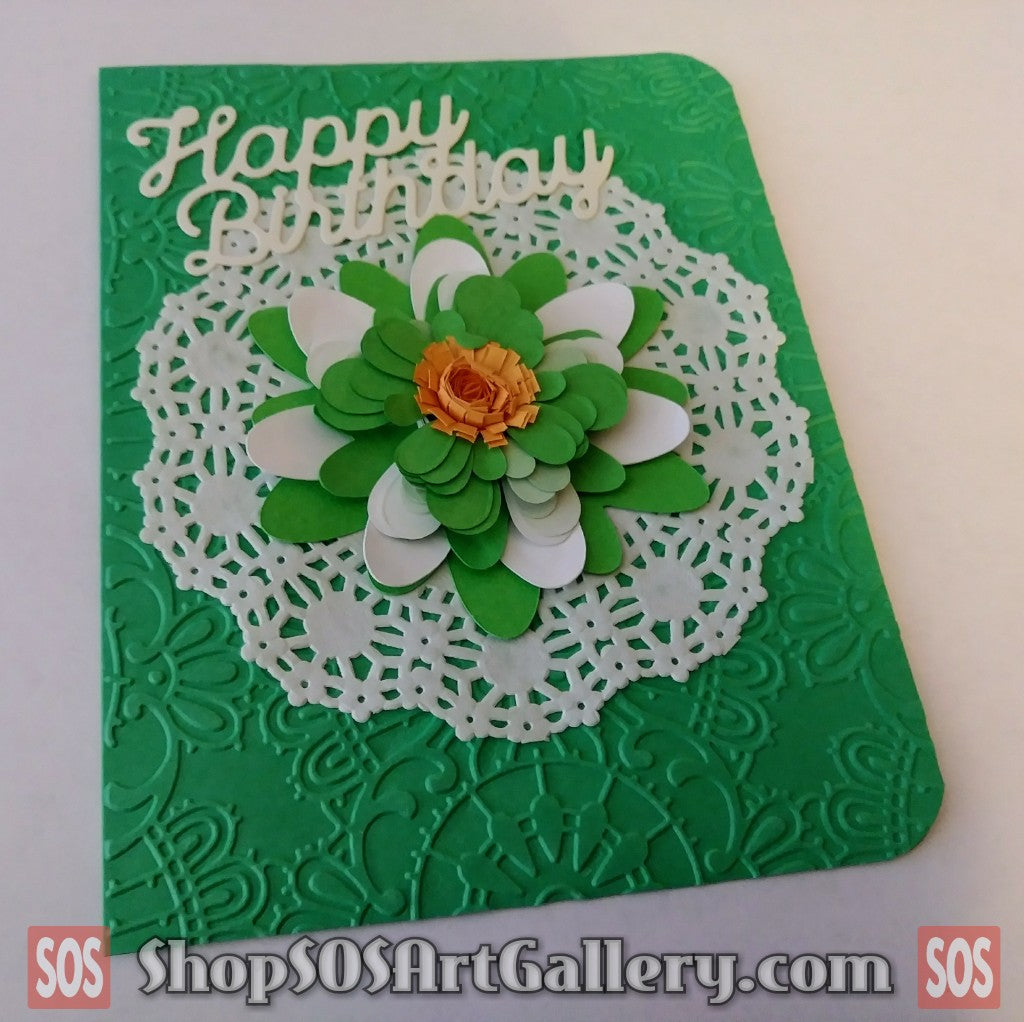 BIRTHDAY: Handmade Greeting Card by Local Artist