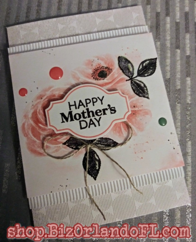 MOTHER'S DAY: Handmade Greeting Card by Kathryn McHenry