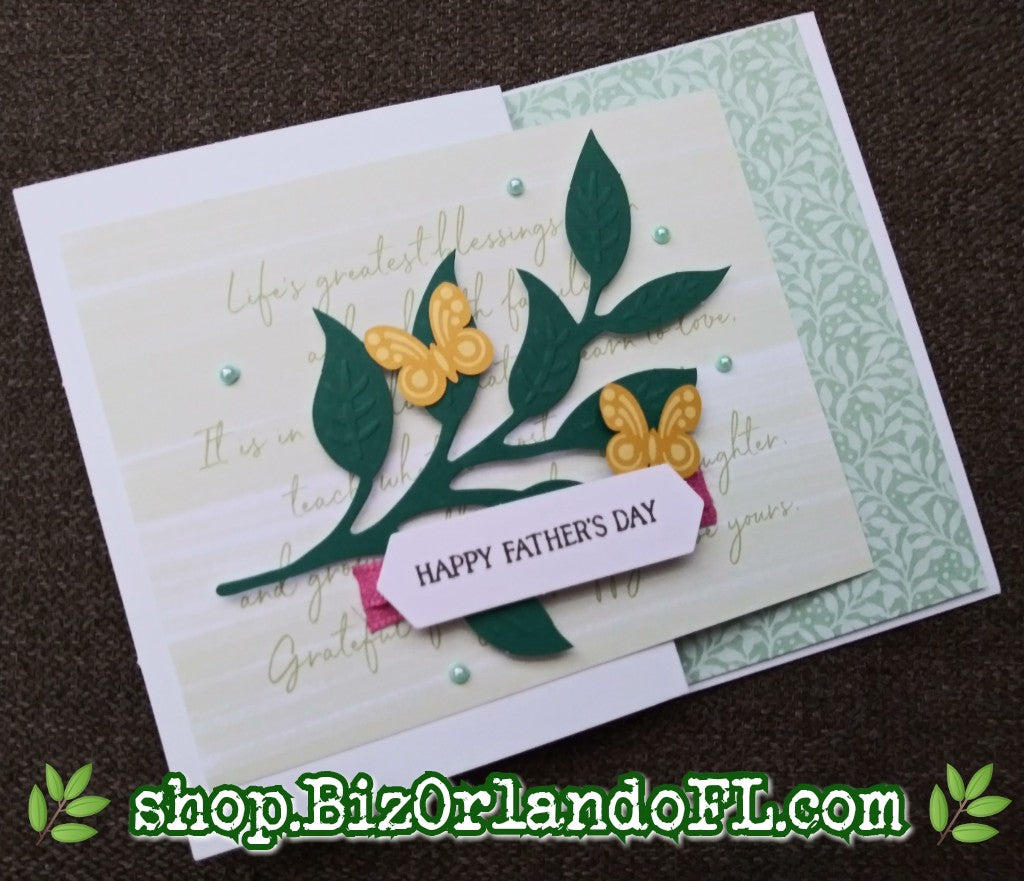 FATHER'S DAY: Handmade Greeting Card by Kathryn McHenry