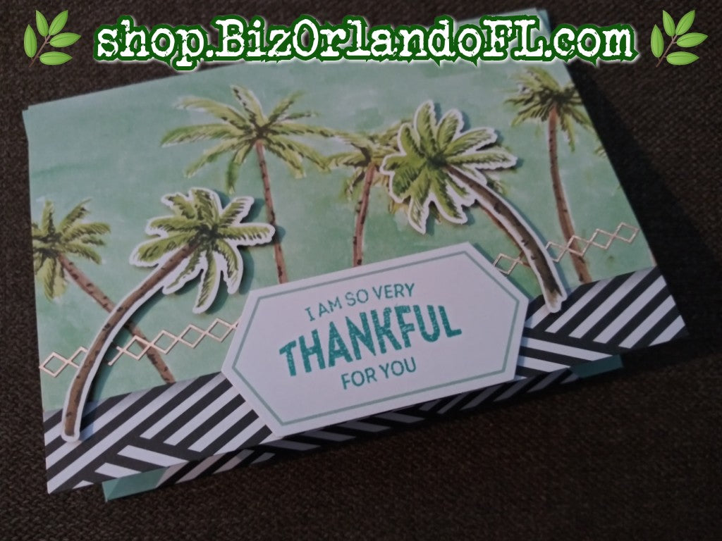 THANK YOU: Handmade Greeting Card by Kathryn McHenry