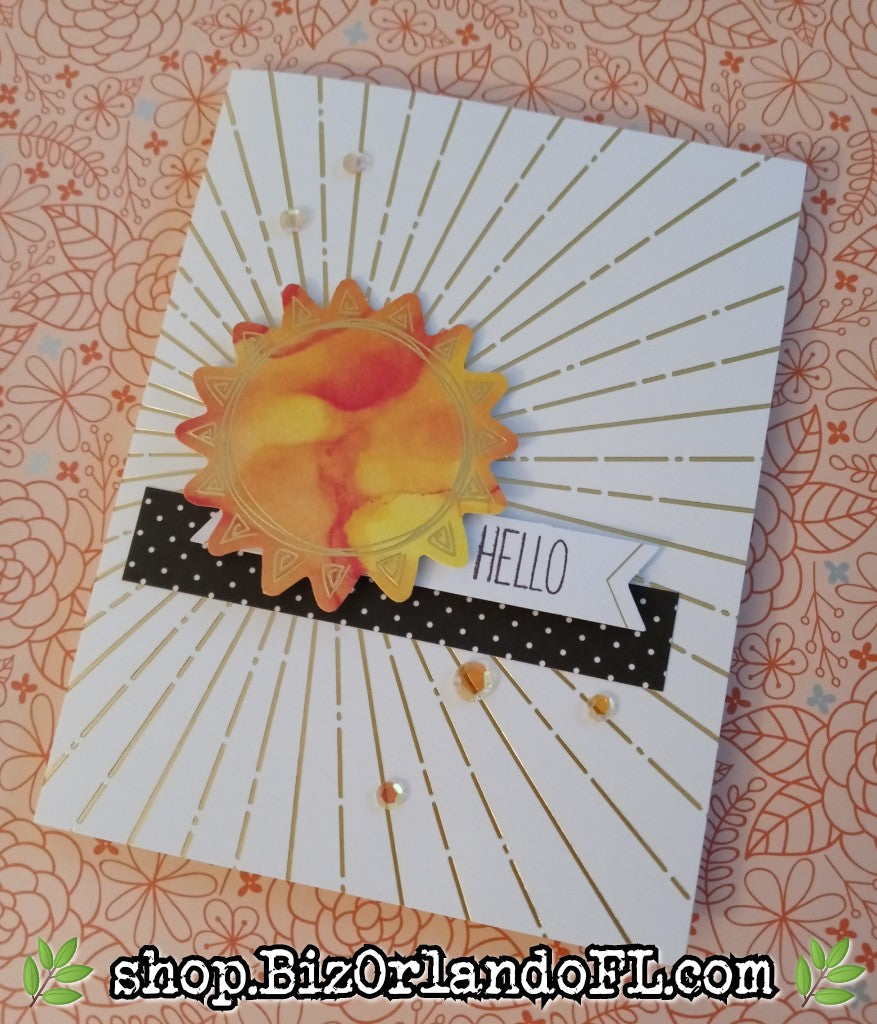 ENCOURAGEMENT: Handcrafted Greeting Card by Kathryn McHenry