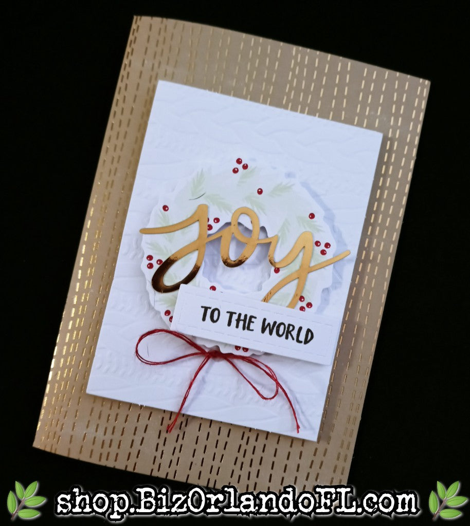 HOLIDAY: Handmade Greeting Card by Kathryn McHenry