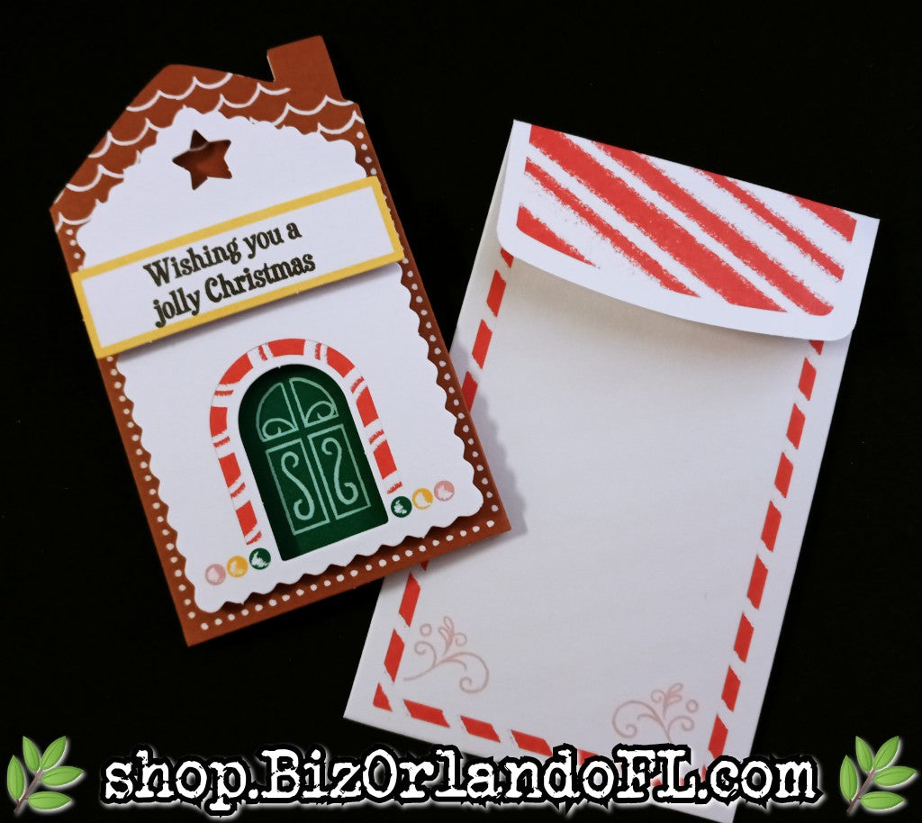 HOLIDAY: Handmade Mini Greeting Card by Kathryn McHenry