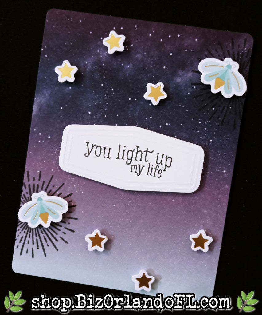 ENCOURAGEMENT: Handcrafted Flat Card by Kathryn McHenry