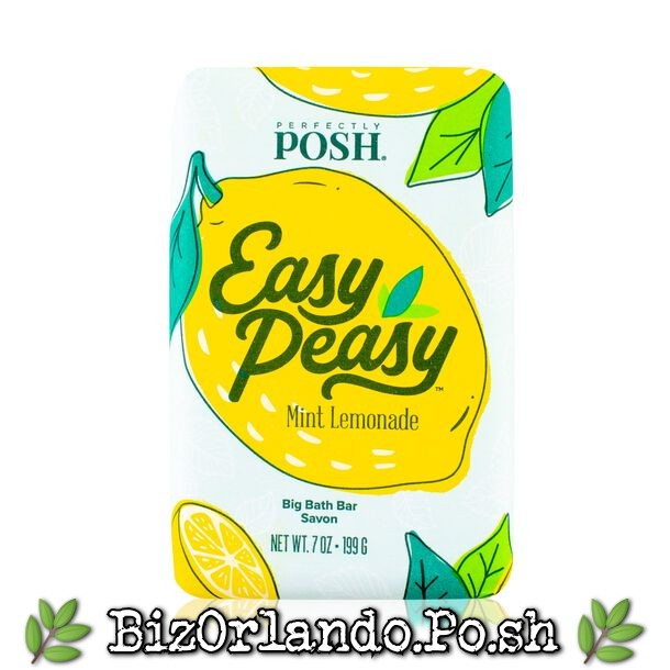PERFECTLY POSH: Easy Peasy Chunk Big Bath Bar