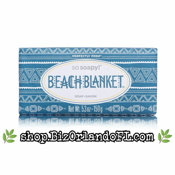 PERFECTLY POSH: Beach Blanket So Soapy