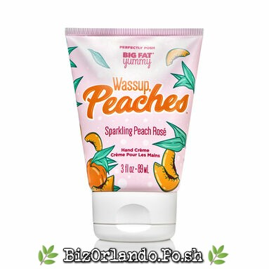 PERFECTLY POSH: Wassup, Peaches Sparkling Peach Rose' Big Fat Yummy Hand Creme