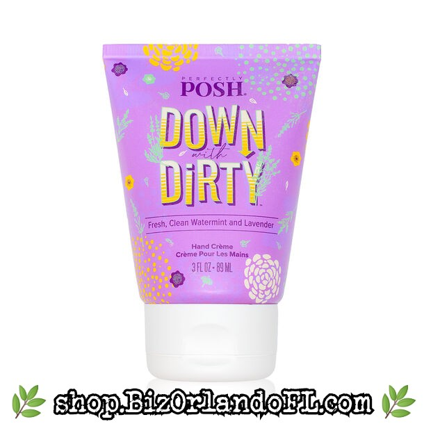 PERFECTLY POSH: Down With Dirty Big Fat Yummy Hand Creme