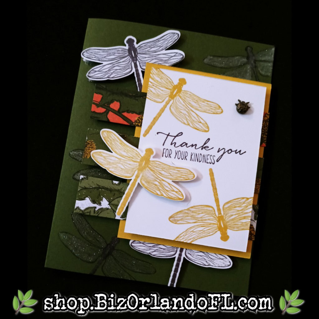 THANK YOU: Handcrafted Greeting Card by Kathryn McHenry