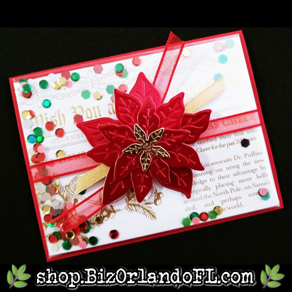 HOLIDAY: Handmade Shaker Greeting Card by Kathryn McHenry