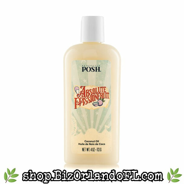 PERFECTLY POSH: Absolute Passionfruit Coconut Oil
