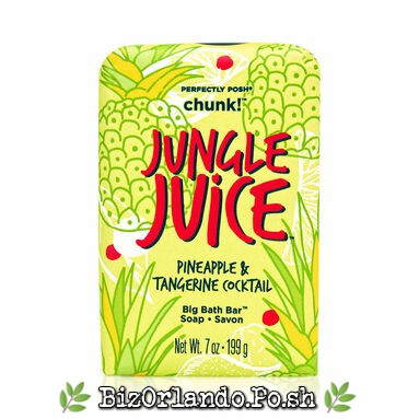 PERFECTLY POSH: Jungle Juice Pineapple & Tangerine Cocktail Chunk Big Bath Bar