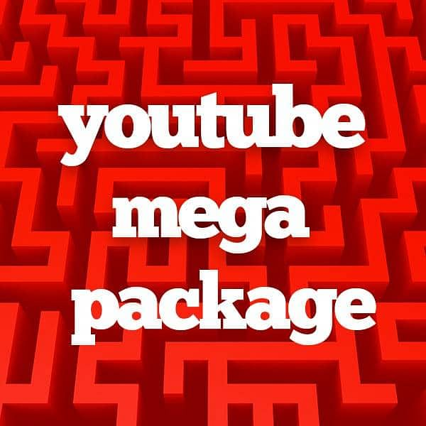 YouTube Mega Package