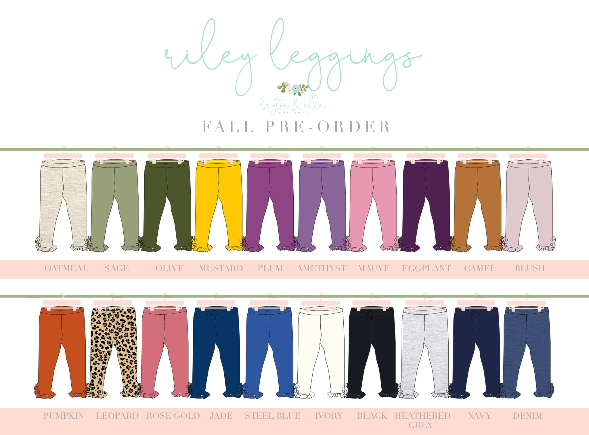 Size 4T Fall Legging Extras