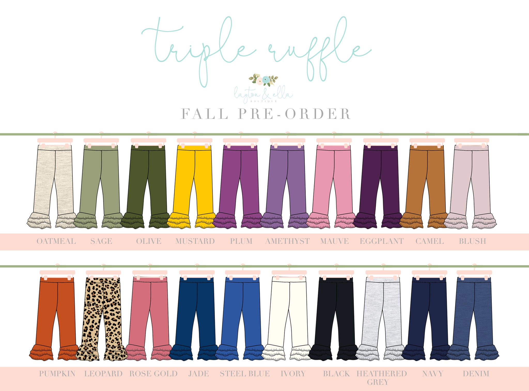 Size 8 Fall Legging Extras
