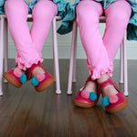 Bubblegum Riley Leggings - Layton & Co