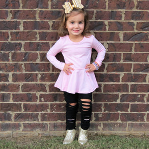 Pink Peplum Top - Layton & Co
