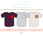 Boys Pocket Tee Pre-Order - Layton & Co