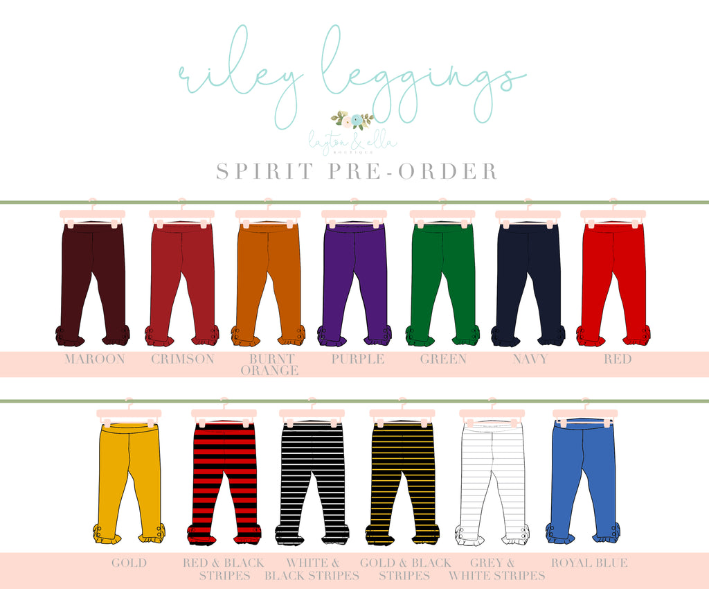 Riley Leggings Spirit Extras 6Y-12Y