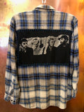 Coldplay Upcycled Flannel From Band Camper