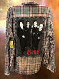 The Cure Upcycled Flannel from Band Camper