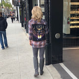 Def Leppard Upcycled Flannel From Band Camper