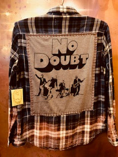 No Doubt Upcycled Flannel From Band Camper