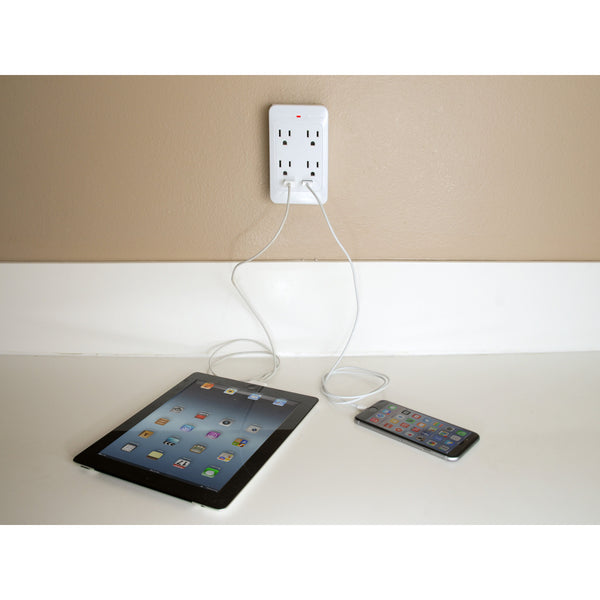 1, 3, and 4 Outlet USB Adapters