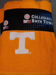 Officially Licensed Collegiate Bath Towels W/ Official College Logo