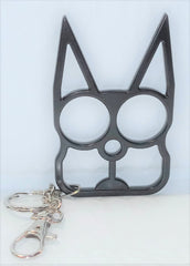 Self Defense Cat Ears Keychain - Black, Gold or Pink