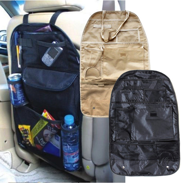 Car Back Seat Hanging Organizer with Cup Holder