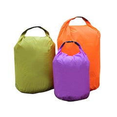 Folding Dry Bags - 20L/40L/70L - Purple, Orange or Green