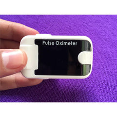 Fingertip Pulse Oximeter with Audio Alarm & Pulse Sound