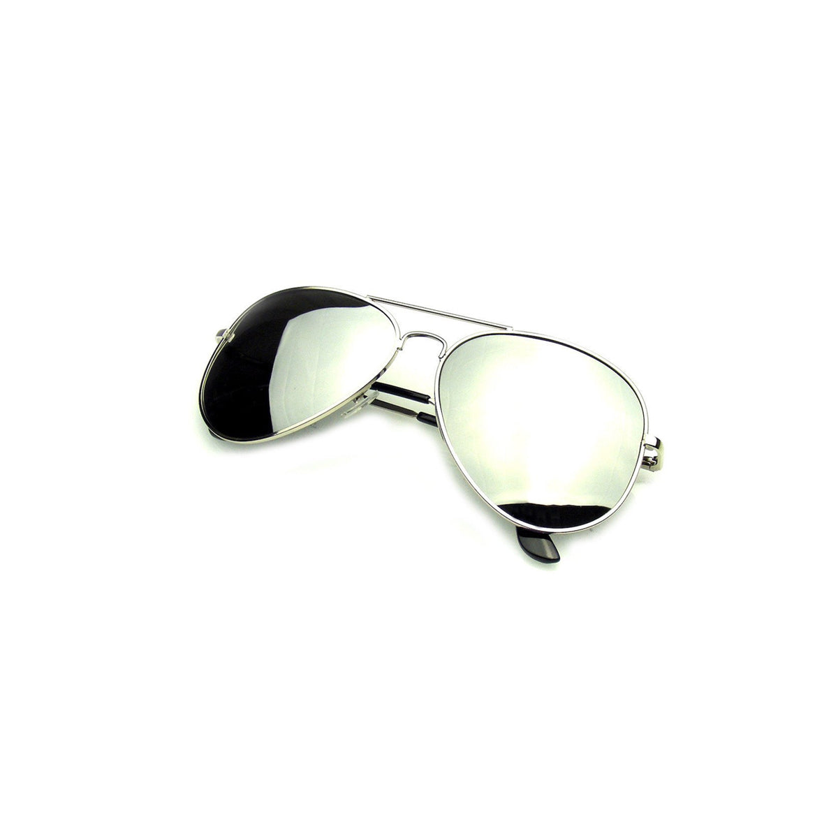 shopify-Vintage Style Aviator Mirrored Sunglasses - Silver, Blue, Black, Pink or Bronze-7