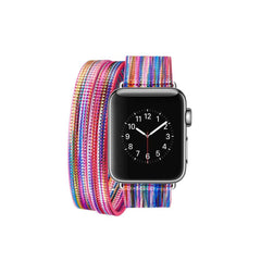Colorful Wraparound Replacement Band for Apple Watch Series 1, 2 & 3