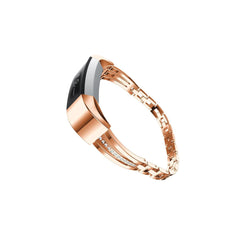 Compatible  Fit Bit Alta Bling Band - Silver or Rose Gold