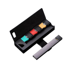 JUUL Compatible Charging Case with LCD indicator holds 3 pods 1200 mAh Portable Wireless