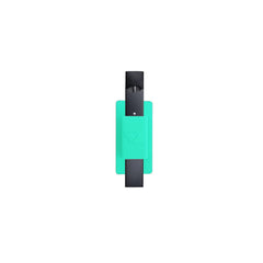 JUUL Compatible Vape Pen Silicone Holder Case for Cell Phones - Black, Red, Clear or Turquoise