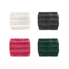 Knit Headwrap - White, Gray, Pink or Green
