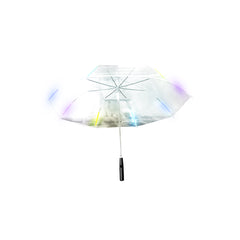 LED Color Changing Umbrella with Flashlight