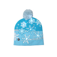 Light-Up Holiday Beanies Christmas Lights Hat