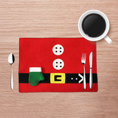 Santa Place Mat - set of two