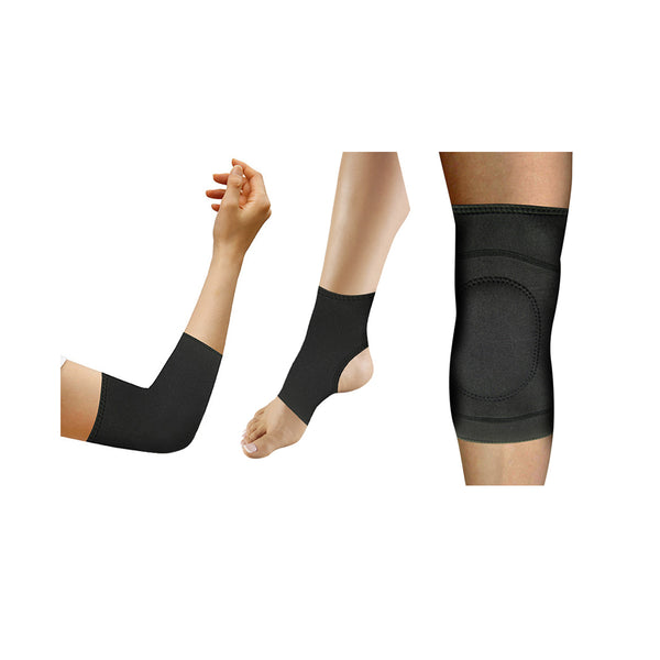 3 Piece Copper Infused Compression Set: Elbow/Knee/Ankle