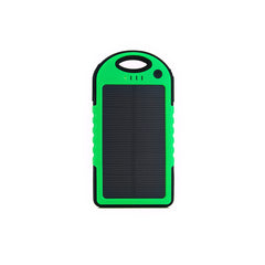 Waterproof 4000mAh Solar Charger with Flashlight