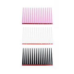Automotive Headlamp Car Eyelash Decals- Black White or Pink