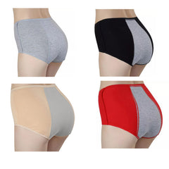 Highwaisted Leakproof Menstrual Panties - Black, Grey, Red or Nude