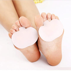 Massaging Silicone Insoles for Balls of Feet/Metatarsal Support - One Pair